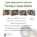 4. 9. 2020 - Turnaj v Laser game - Jsme připraveni k obraně - projekt MO