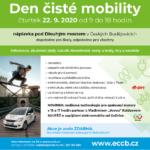 22.9.2020- Den čisté mobility – ECCB
