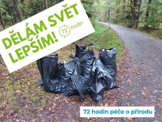 16.10.2020 - 72 hodin - Uklidíme Branišovský les