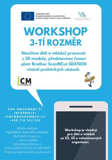 Workshop 3-tí rozměr
