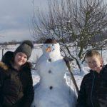 Fotografická výzva – Postav sněhuláka a pošli fotku