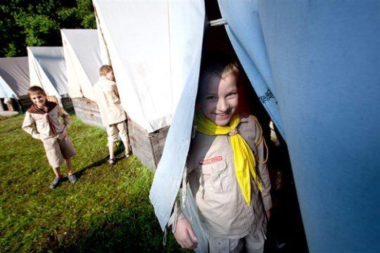 O jihočeské tábory je kvůli distanční výuce větší zájem než v minulosti
