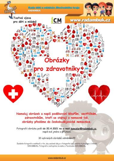 Výzva RADAMBUKu pro děti a mládež - Obrázky pro zdravotníky