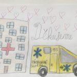 Výzva RADAMBUKu pro děti a mládež – Obrázky pro zdravotníky