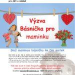 Básnička pro maminku – výzva RADAMBUKu do 15.5.2021