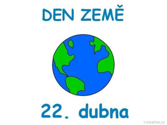 22.4. Den Země - nápady, aktivity s dětmi