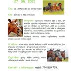 27.8.2021 – Světem koní – projekt Mládež kraji – kraji Jihočeský Objevujeme