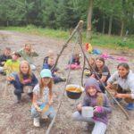 Projekt Za dovednostmi našich předků – 31.7.2021 – Příprava jídla na ohni – Mládež kraji – kraj Jihočeský