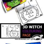 Tvoření s dětmi – čarodějnice, Halloween