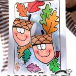 Nápady, tvoření s dětmi - podzim